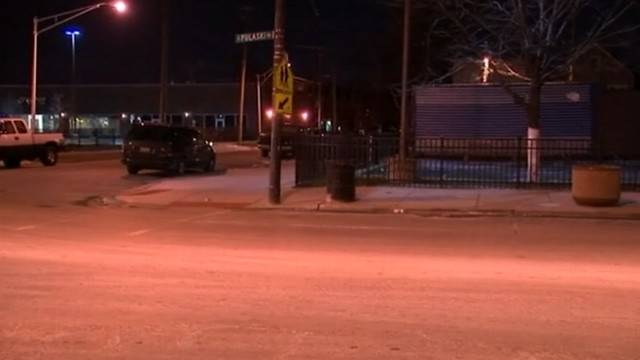VIDEO: A 24-year-old Chicago man was hospitalized in critical condition after escape.