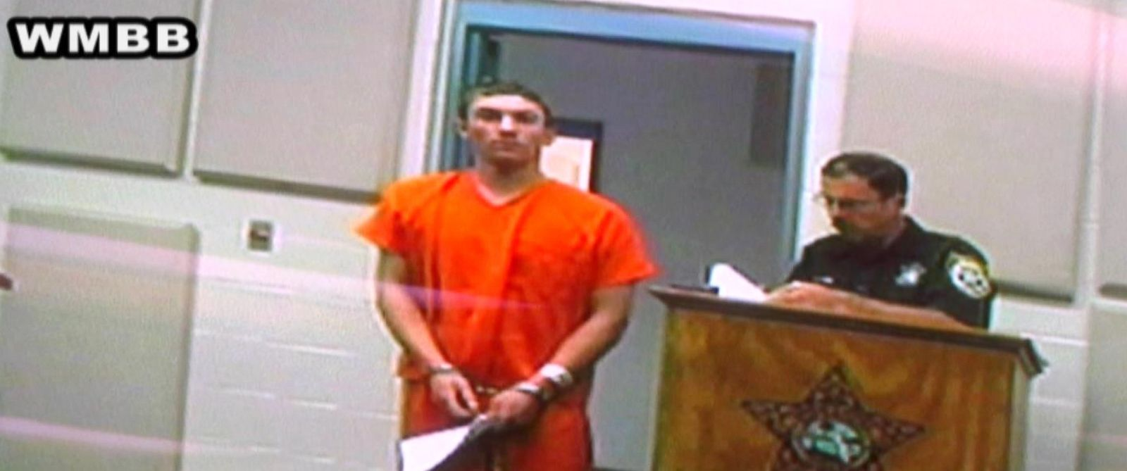 PHOTO: Runaway Kentucky teen, Dalton Hayes, makes his first court appearance via video, Jan. 19, 2015.
