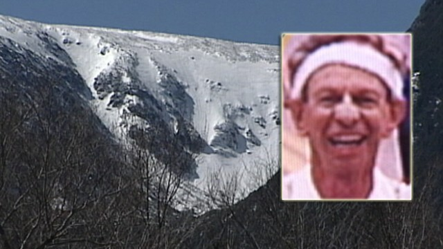 VIDEO: Norman Priebatsch, 67, slipped into a crevasse while hiking in New Hampshire.