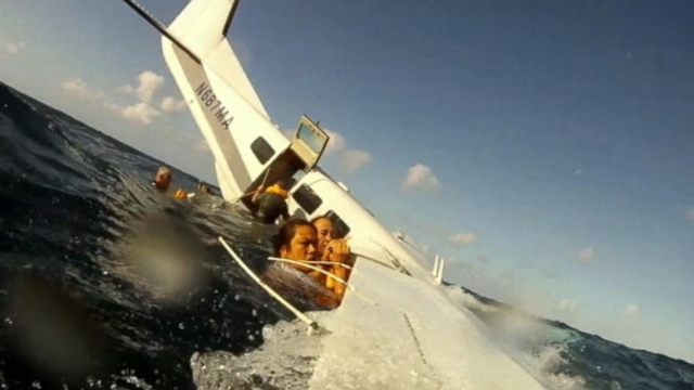Eight of the 9 people on board survived the small plane crash off the coast of Hawaii in December.
