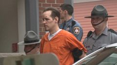 VIDEO: Frein, 31, was being arraigned for allegedly killing a Pennsylvania state trooper in an ambush last month.