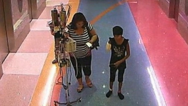 VIDEO: Arizona mother pulls child from hospital who is being treated for leukemia.