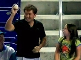 Watch: Game Over! Man Steals Girl?s Foul Ball