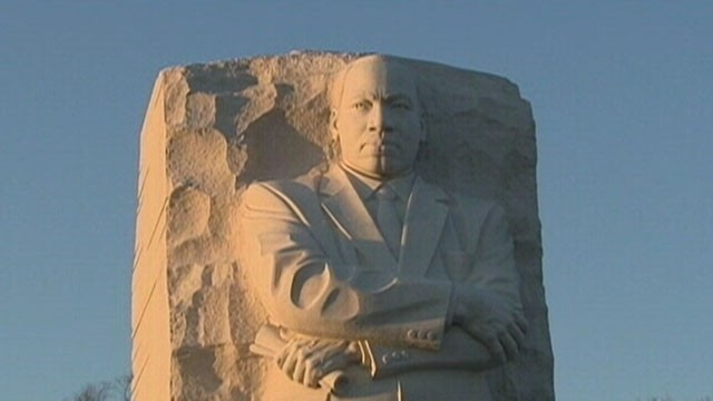 VIDEO: Martin Luther King Jr. Memorial might not be refurbished till after March on Washington anniversary.
