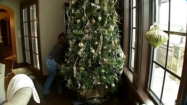closet christmas tree is a holiday fix video abc news