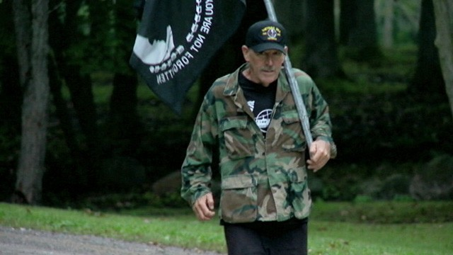VIDEO: Mike Bowen has been running for 31 years to honor every dead or missing American from Vietnam.