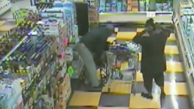 Video: Men Caught Shoplifting With a Wheelchair