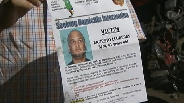 VIDEO: Family of Ernesto Lluberes says he left home early to start his shift at Miami International Airport.