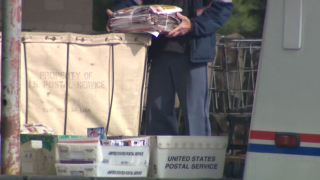 VIDEO: U.S. Postal Service agents found about 500 pieces of undelivered standard mail, mostly catalogs and ads.