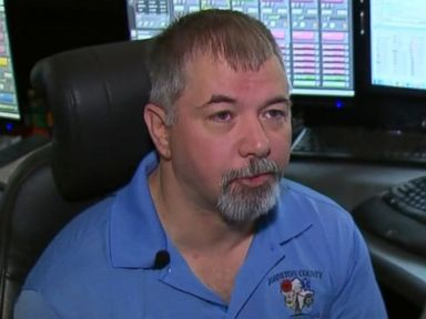 PHOTO: Tim Medlin, a 911 dispatcher for Johnston County, North Carolina, helped save a woman who called and said she was locked in the trunk of a moving car on Jan. 14, 2017.
