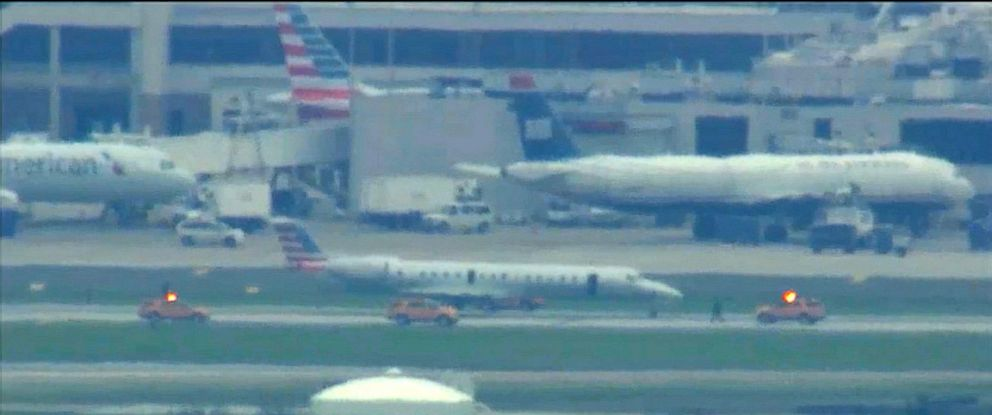 PHOTO: The Federal Aviation Administration (FAA) has issued a ground stop into Philadelphia International Airport after an emergency involving an aircraft on April 29, 2016.