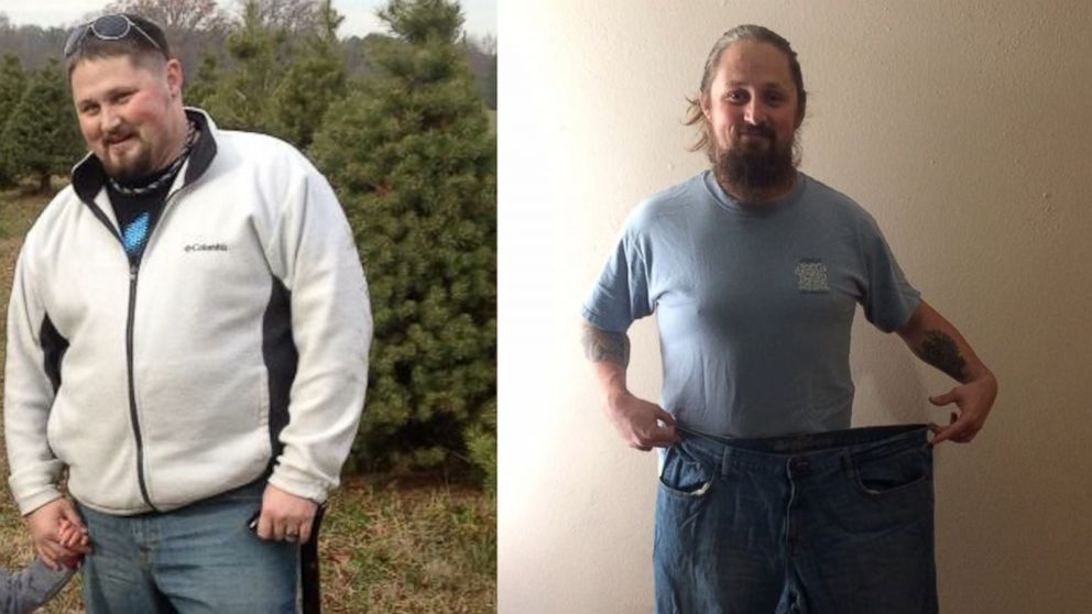PHOTO: Army veteran Buddy Rich lost 125 pounds through a yoga plan of former pro wrestler Diamond Dallas Page.