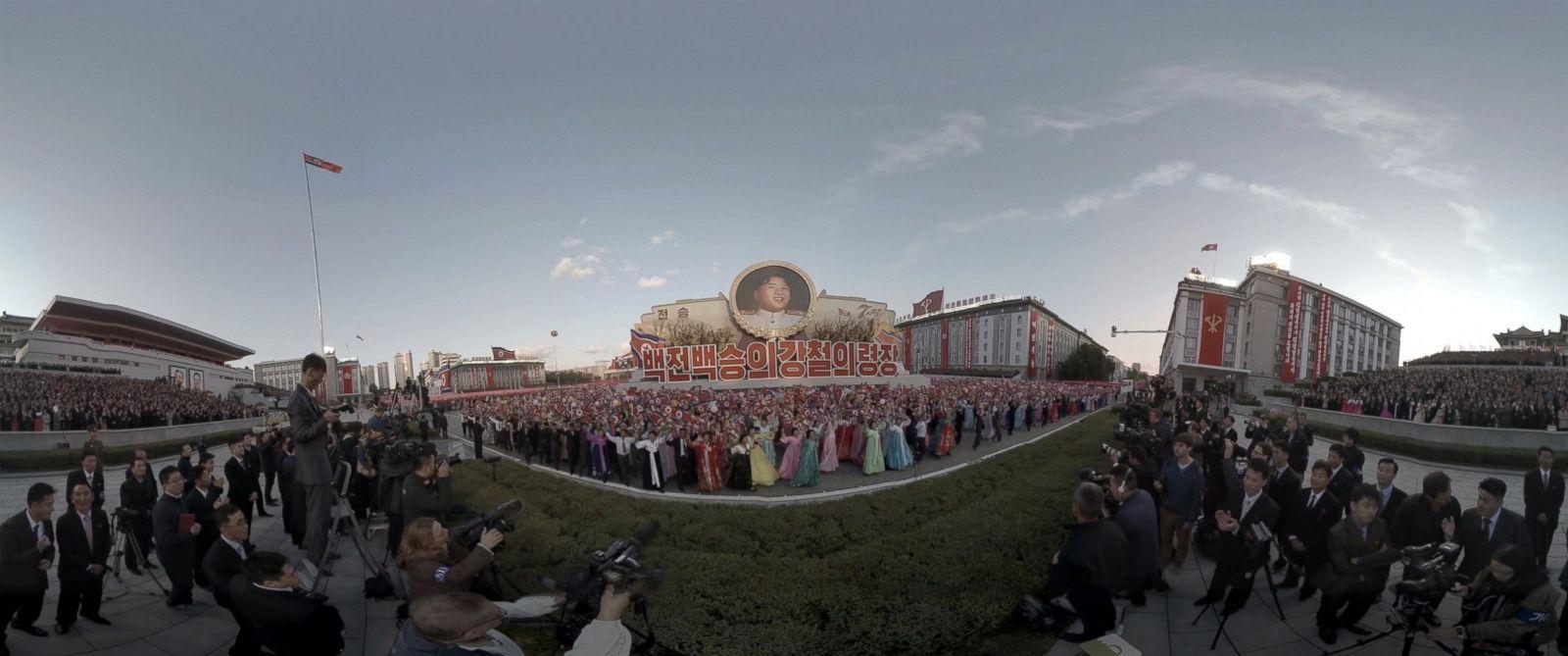 PHOTO: Inside North Korea VR