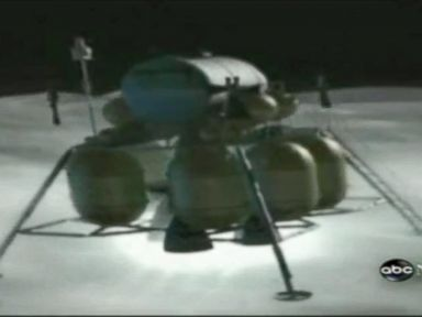 PHOTO: Archival ABC News footage of the Apollo 11 moon landing.