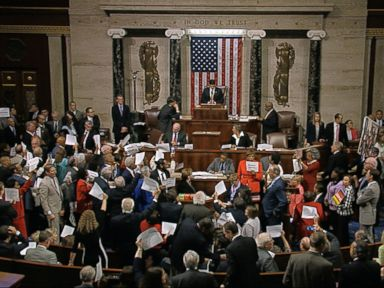 House Adjourns as Dems' Chaotic Sit-in Halts Business