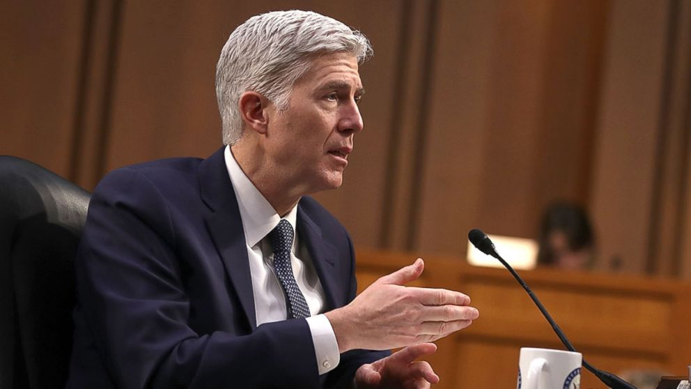 politics wire story gorsuch asks questions supreme court bench