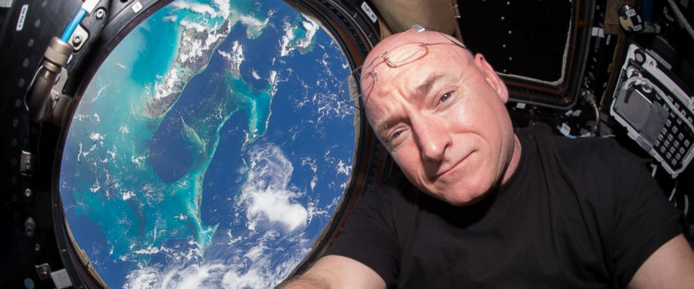 PHOTO: Scott Kelly is seen inside the Cupola, a special module which provides a 360-degree viewing of the Earth and the International Space Station, July 12, 2015.