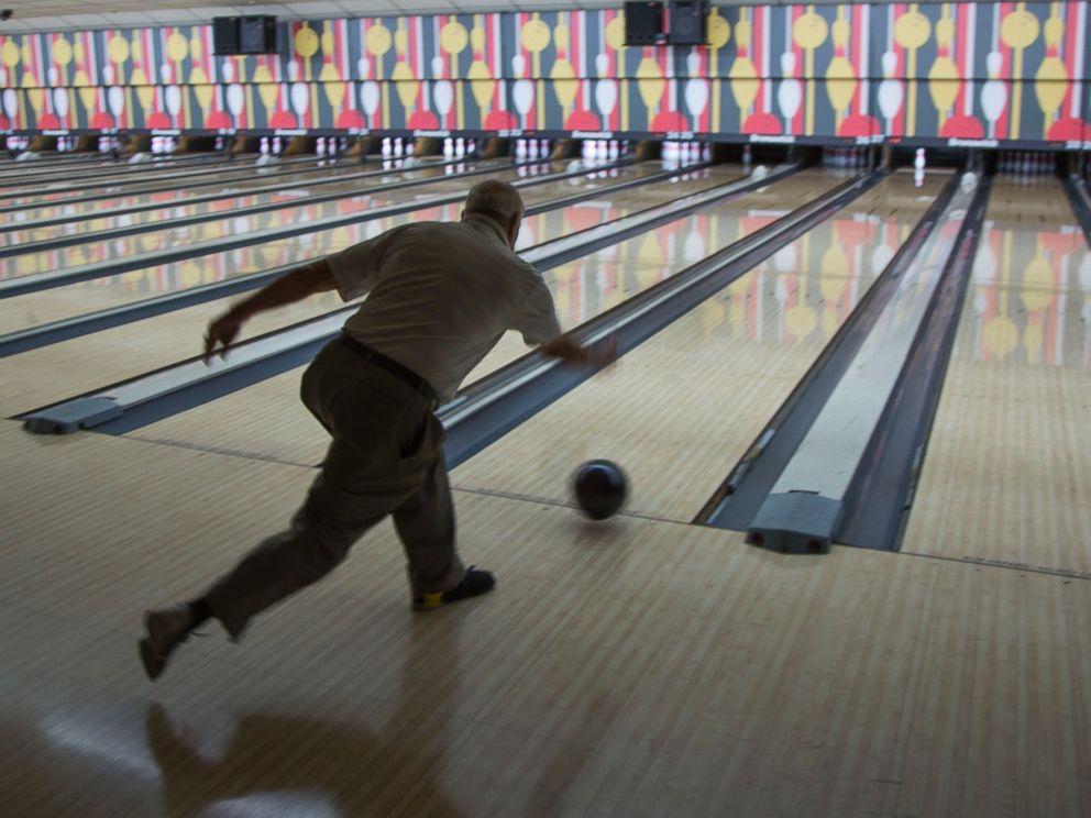 PHOTO: Glenn Allison, bowling at La Habra 300 Bowl, in La Habra, California.
