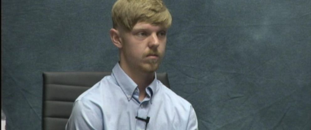 PHOTO: Ethan Couch is seen here during a deposition after the 2013 fatal car crash.