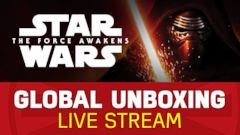 LIVE STREAM: Star Wars Global Unboxing LIVE Stream