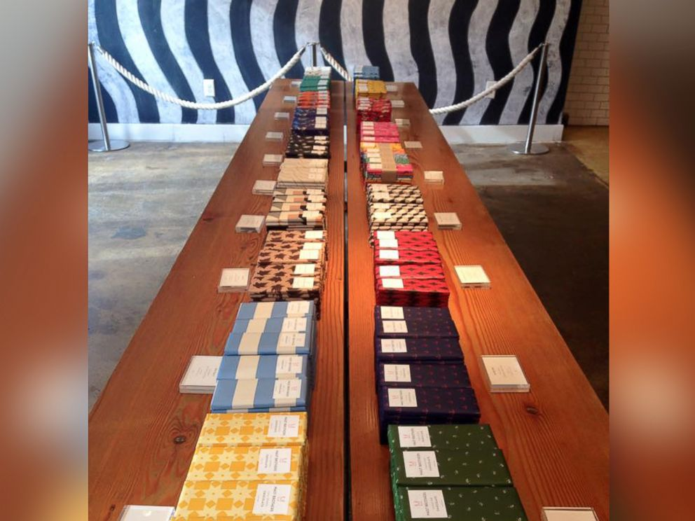 PHOTO: Mast Brothers Chocolate offers a variety of chocolate starting around $8 a bar.