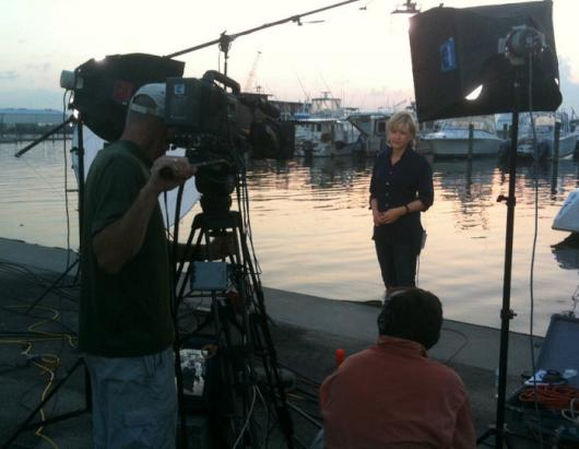 Diane Sawyer Behind the Scenes photos