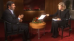Photo: Exclusive: Iran Prez Wont Say Yes-or-No to Nuclear Bomb: Tells ABCs Diane Sawyer Obama Didnt Deserve Nobel Peace Prize