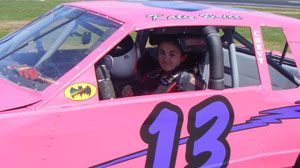 PHOTO Katie Brice is just 14 years old, too young to get a drivers license, but shes old enough to drive in NASCAR races.