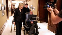 Diane Sawyer's interview with Stephen Hawkings.