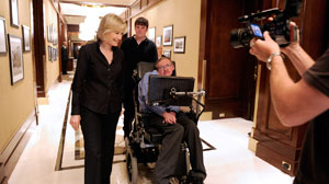 Diane Sawyers interview with Stephen Hawkings.