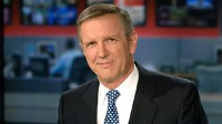 PHOTO Charles Gibson broadcasts from ABC News headquarters in New York City, in this file photo.