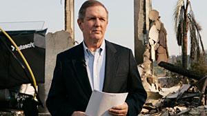 Photo: ABC News Charles Gibson in San Diego