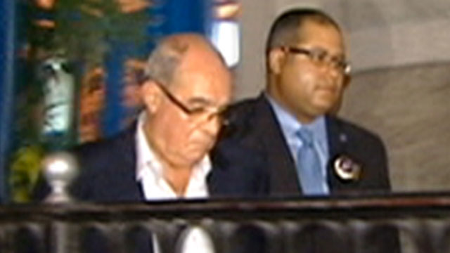 PHOTO: A prominent, 74-year-old Egyptian former bank chairman, Mahmoud Abdel Salam Omar, was arrested at New Yorks Pierre Hotel this morning in connection with an alleged sex assault Sunday on a 44-year-old room maid.