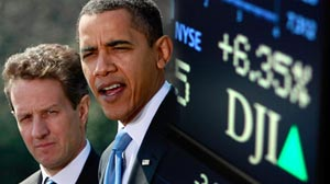 Photo: Obamas $1 Trillion Plan to End Bank Crisis: Treasury Secretary Tim Geithner Hopes to Attract Private Investors to Buy Toxic Assets