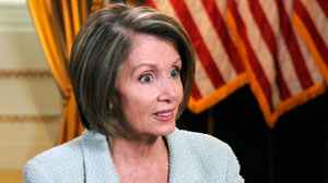Nancy Pelosi Diane Sawyer