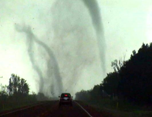 Tornadoes Rip Through Oklahoma
