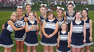 Photo: World News Person of the Week: Pleasant Valley High School Cheerleading Squad