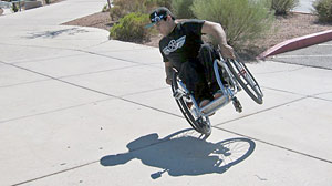 Photo: Wheelchair Bound Teen Changes Skating World One Back Flip At A Time: