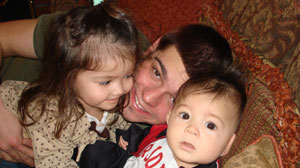 PHOTO Michael Elias has not seen his two children, Jade and Michael, since 2008.