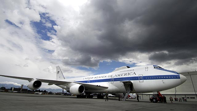 PHOTO: Air Force E-4B National Airborne Operations Center Doomsday Plane