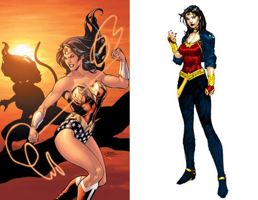 Wonder Woman Over the Years