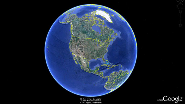 PHOTO: A screen grab from Google Earth is shown.