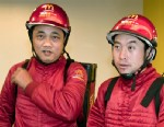 Two McDonald's delivery workers are shown in Shanghai, China, Nov. 15, 2010.