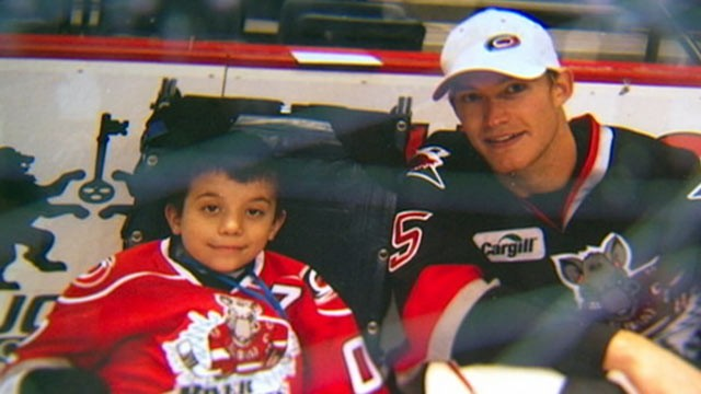 Hockey Team Raises Money To Purchase Home For Biggest Fan