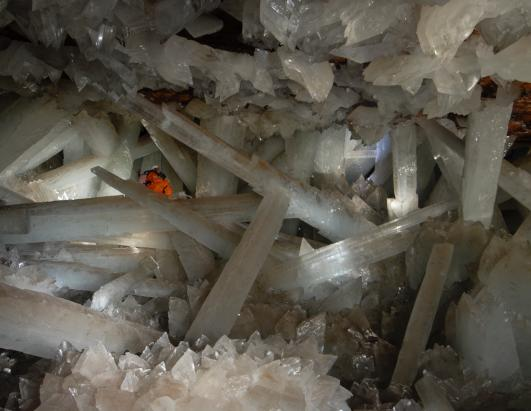 return to crystal cave picture formations examined in new cave at