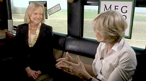 Photo: Meg Whitman Confident of a Victory