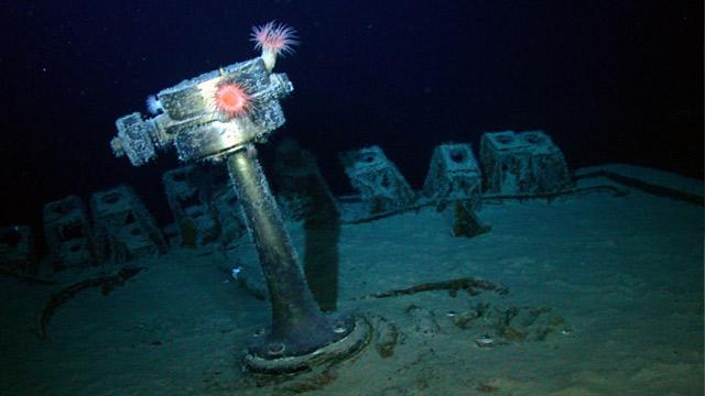 PHOTO:Stern compass of SS Gairsoppa