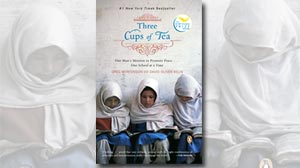 Photo: Book Cover: Three Cups of Tea