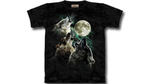 Three Moon Wolf T-Shirt