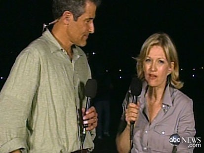 Dr. Besser and Diane Sawyer reporting from Haiti.
